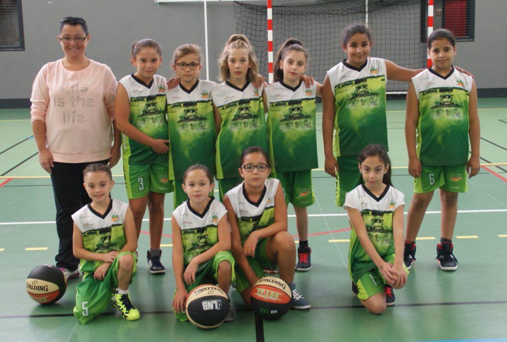 U11 F - FL Basket Chambon - Équipes