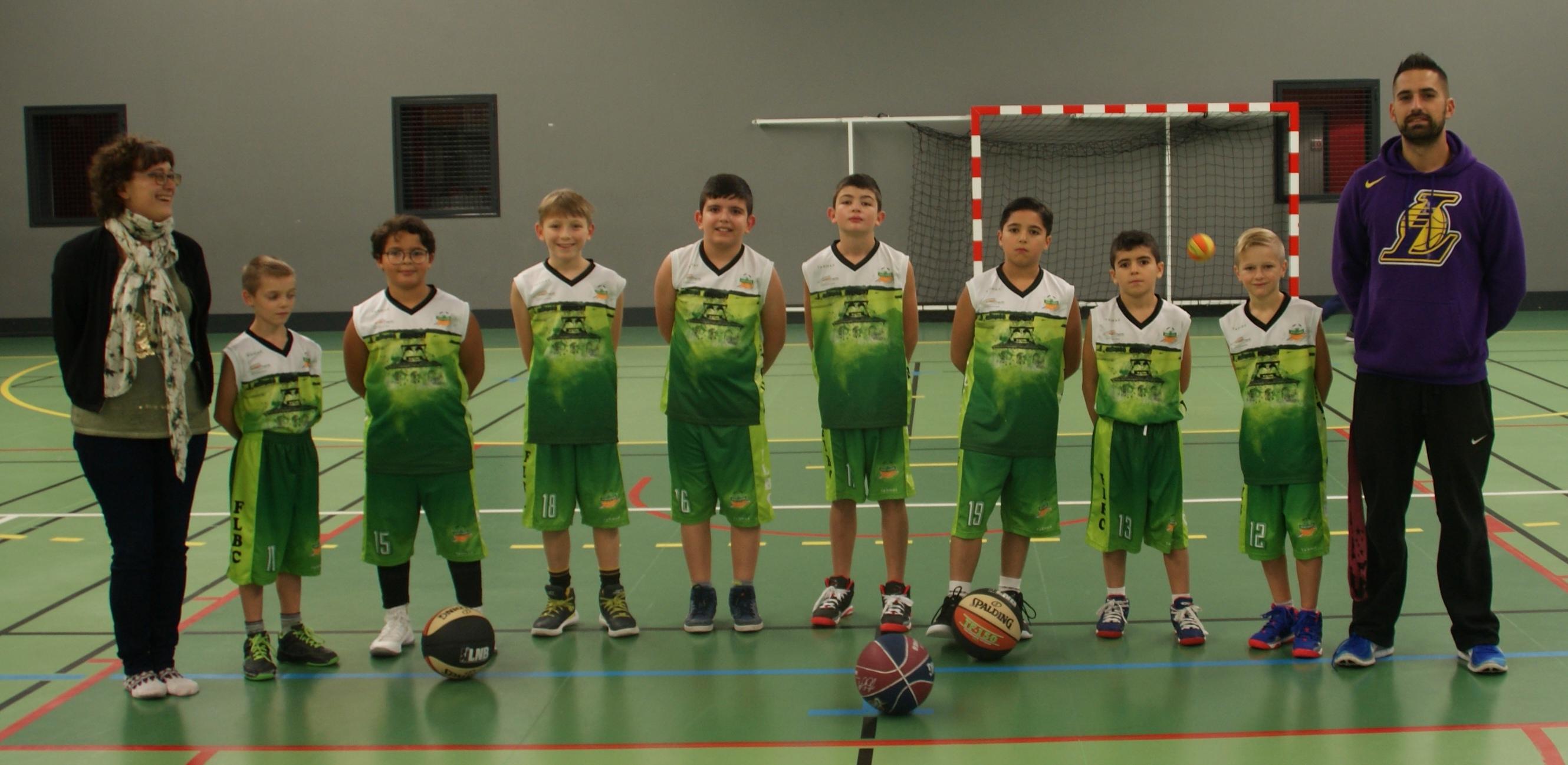 U11 M - FL Basket Chambon - Équipes