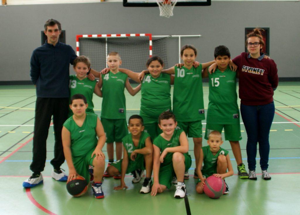 U11 Mixte - FL Basket Chambon - Équipes