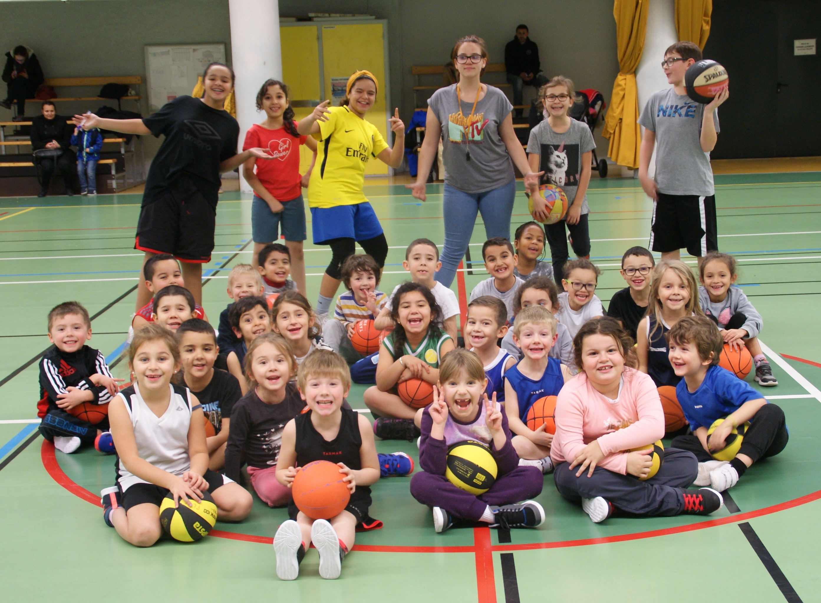 U7 Baby Basket - FL Basket Chambon - Équipes